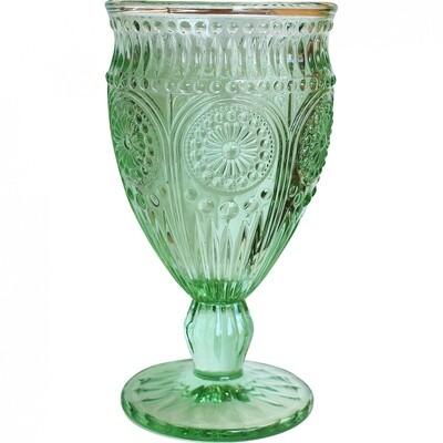Wine Glass Soft Green
