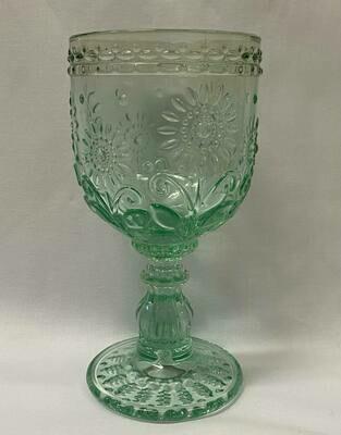 Wine Glass Garden Mint