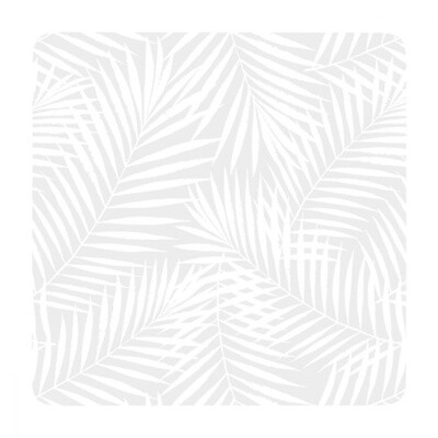 Soph Hamptons Grey Palm Coaster