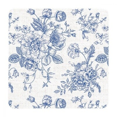 Soph Hamptons Oriental Floral Coaster