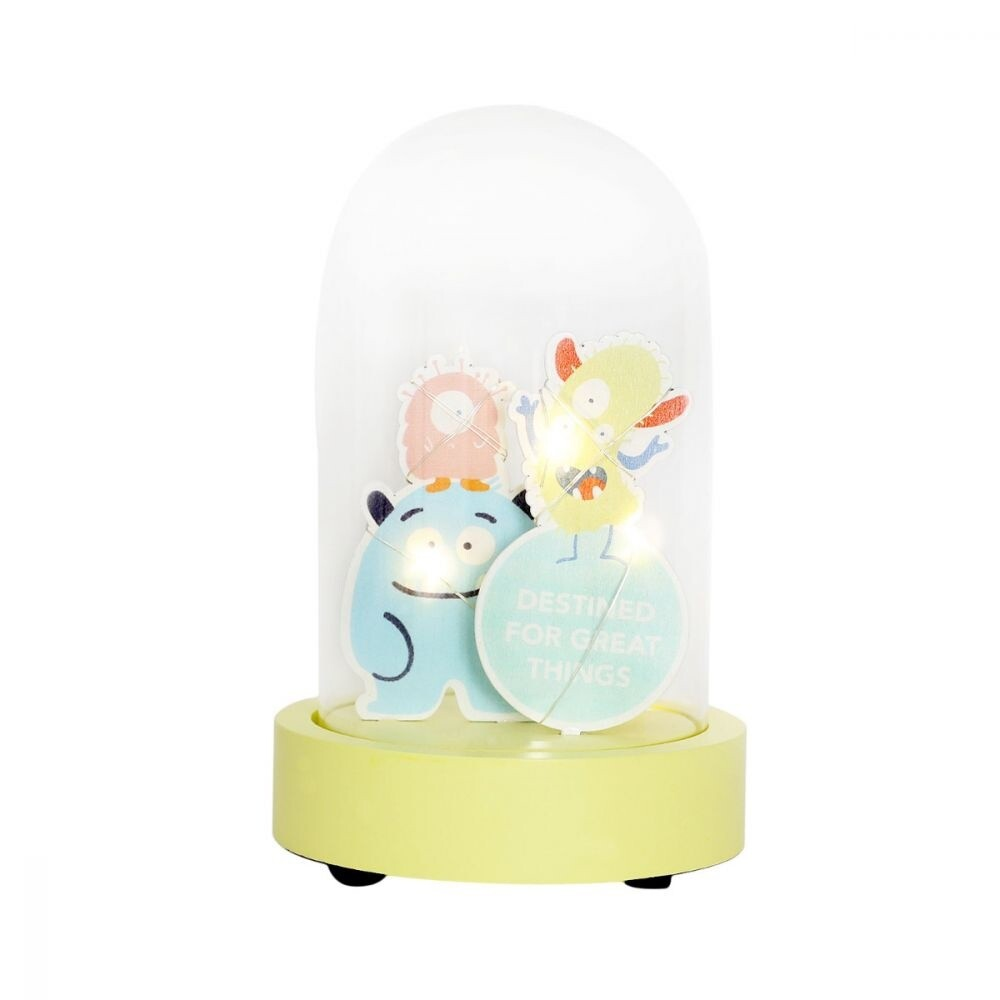 Colourful Kids Monster Light Up Dome