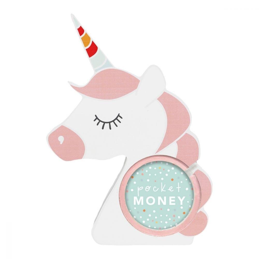 Colourful Kids Unicorn Money Box