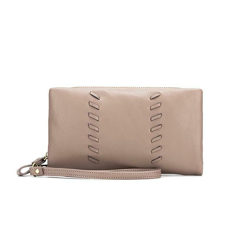 Sky Wallet Taupe