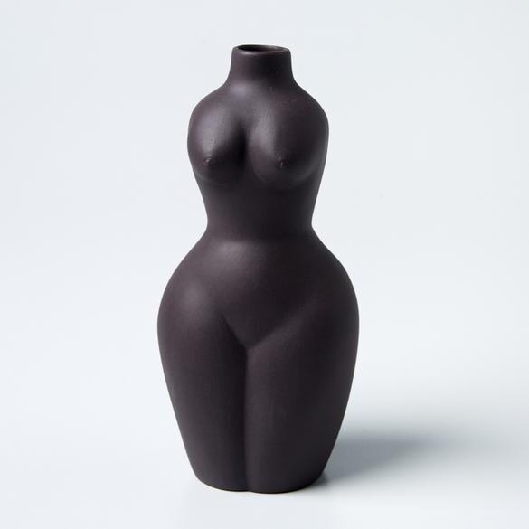 Posture Vase Medium Black