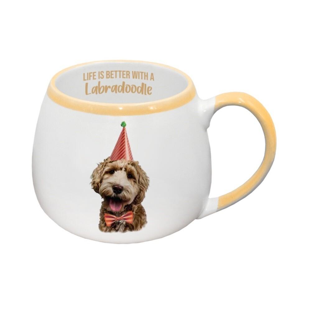 Painted Pet Labradoodle Mug