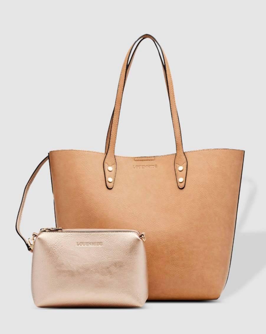 Dakota Camel Tote Bag