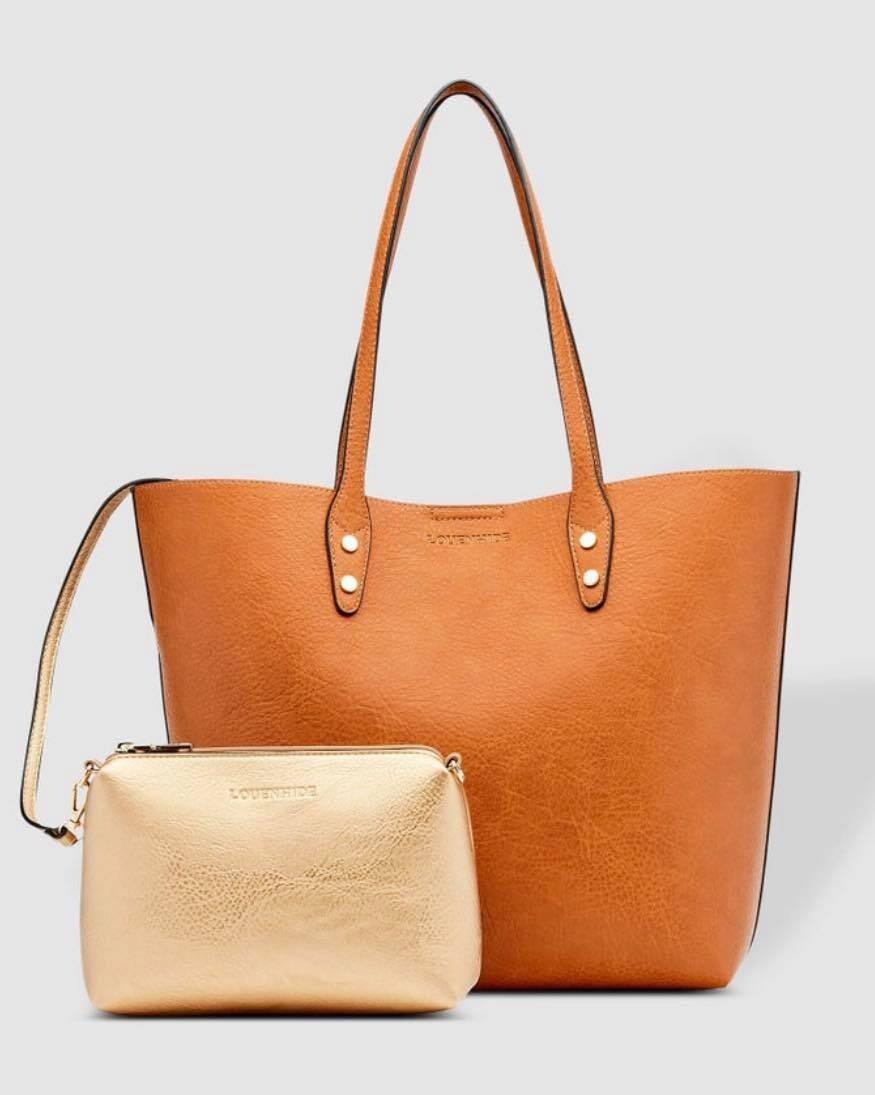 Dakota Tan Tote Bag