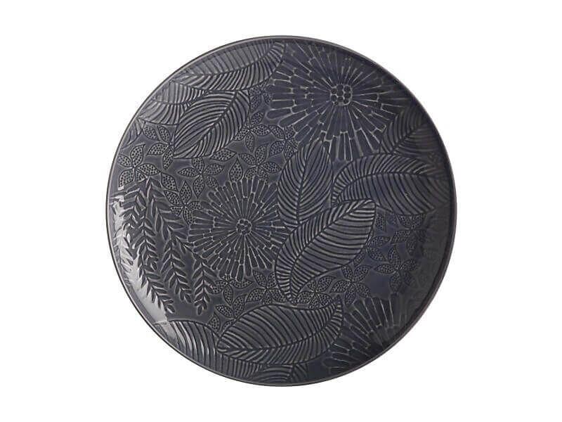 Panama Round Platter 36cm Grey