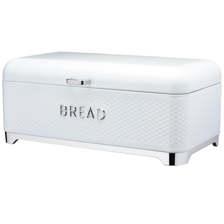 Lovello Bread Bin 42x22x19cm White