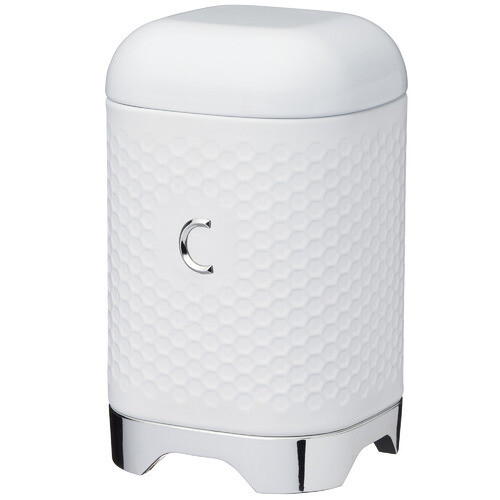Lovello Coffee Canister 11x18cm 1.5L White