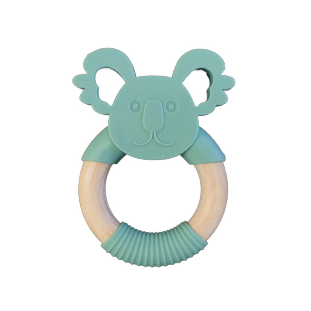 Jellies Koala Teether - Sage