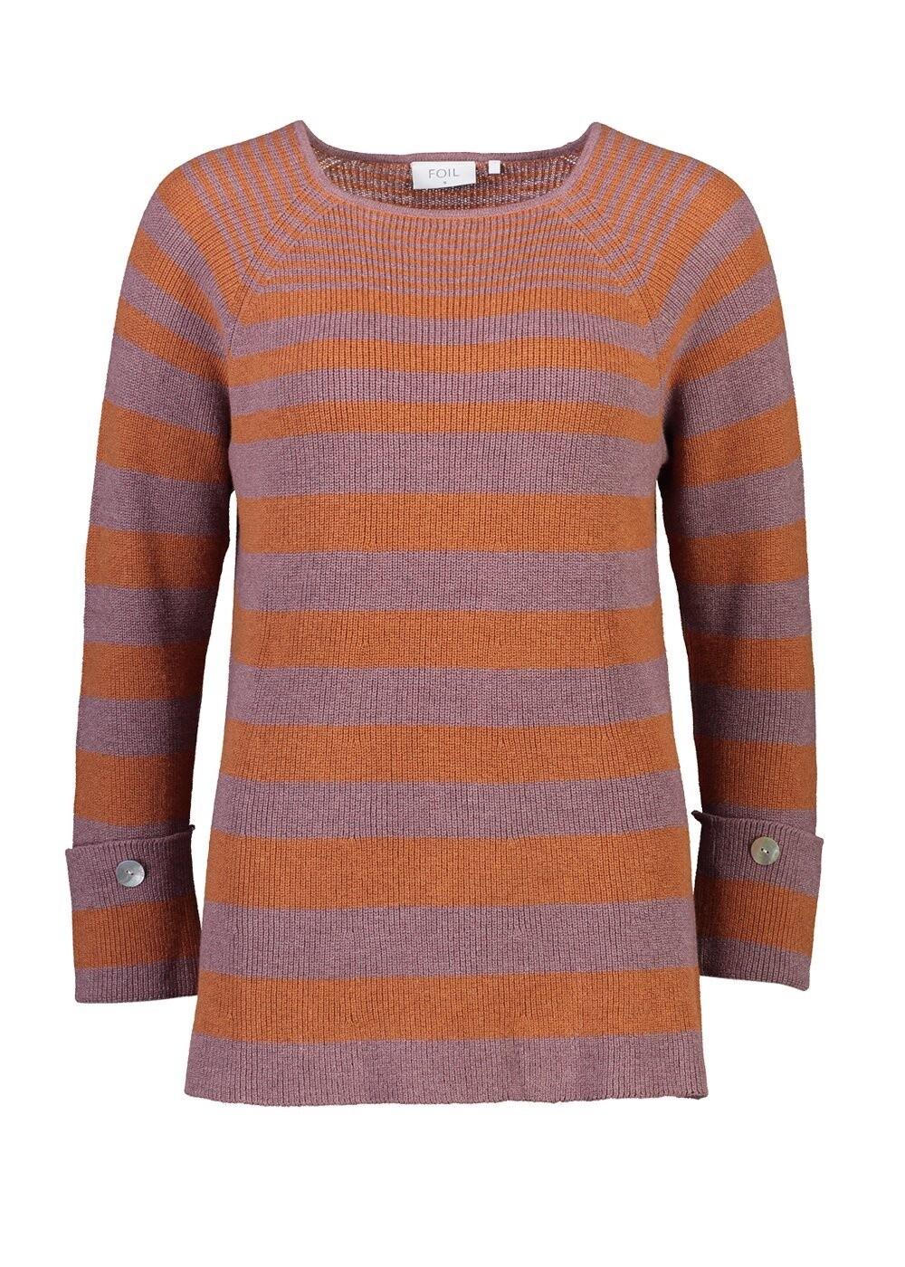 Sweater Rosewood Stripe
