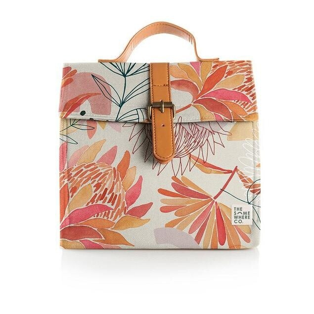 Brushed Protea Lunch Satchel