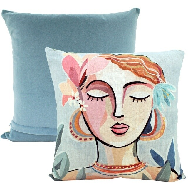 Abstract Serenity Cushion