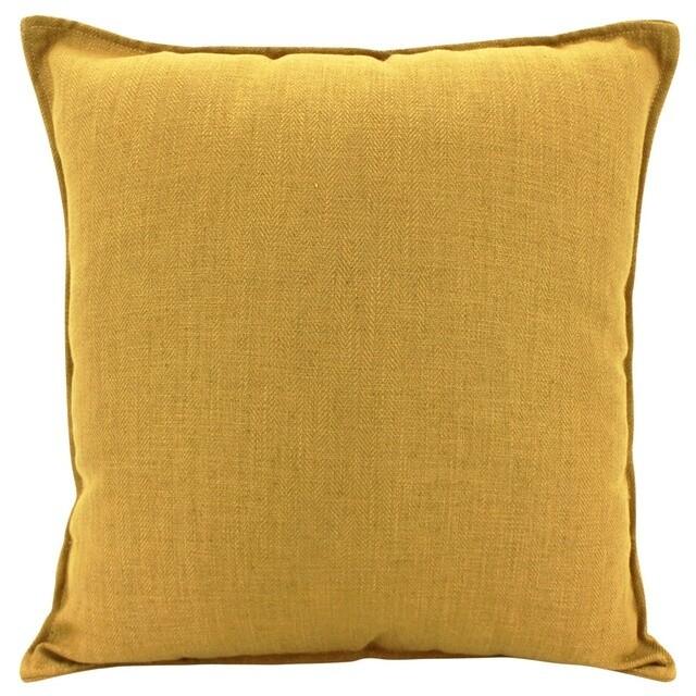 Linen Mustard Cushion