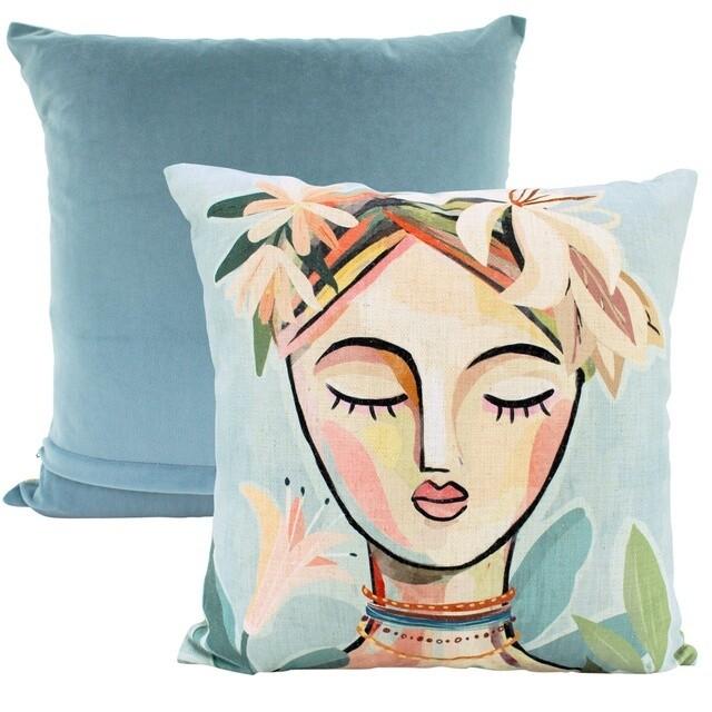 Abstract Composure Cushion