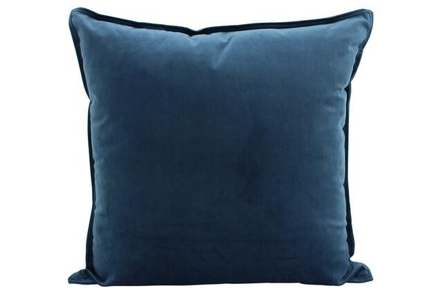 Velvet Cushion Ocean