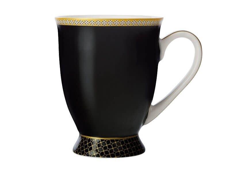Teas & C's Classic Footed Mug 300ML Black