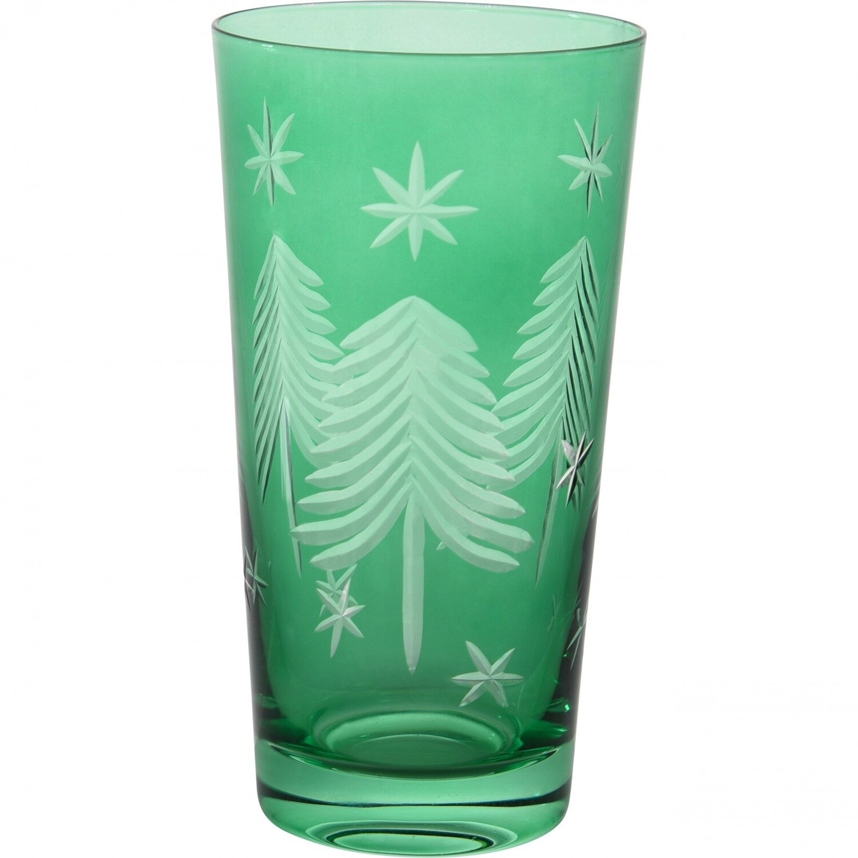 Christmas Tall Tumbler Emerald