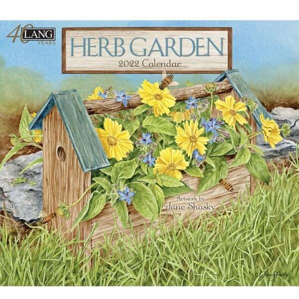 2022 Lang Herb Garden