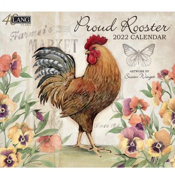 2022 Lang Proud Rooster Calendar
