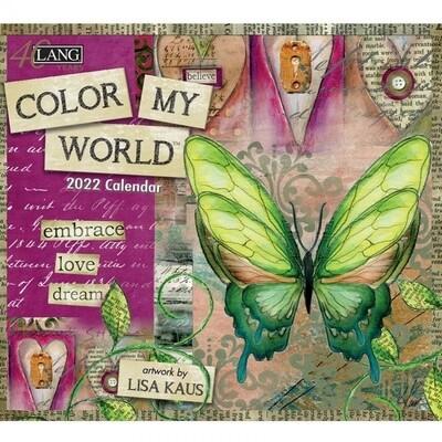 2022 Colour My World Calendar