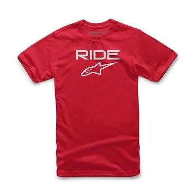 T-Shirt Alpinestars Ride 2.0 Tee Rossa