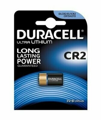 Batteria Duracell CR2