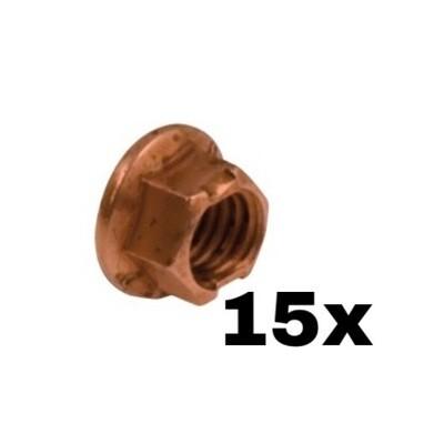 Kit dadi in rame M8 (15x)