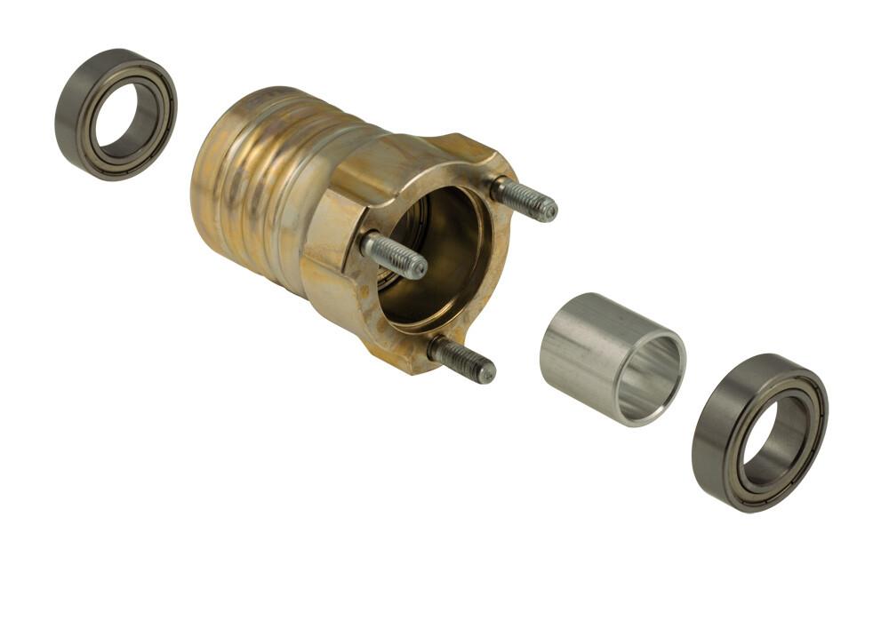Mozzo OTK HST magnesio 80mm