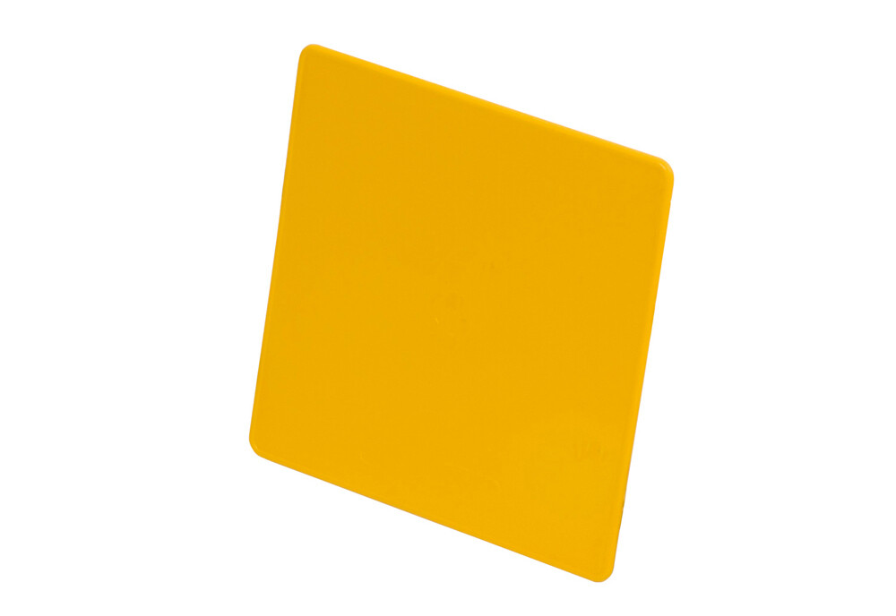 Tabella gialla rigida