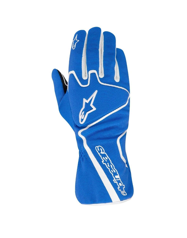 Guanti Alpinestars Tech 1-K Race Blu/Bianco
