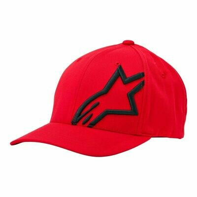 Cappellino Alpinestars Corp Shift Curved 2 Rosso