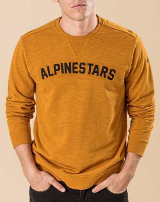 Felpa Alpinestars Judgement Mustard