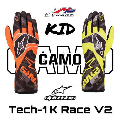 Guanti Alpinestars Tech-1 K RACE S. CAMO BIMBO