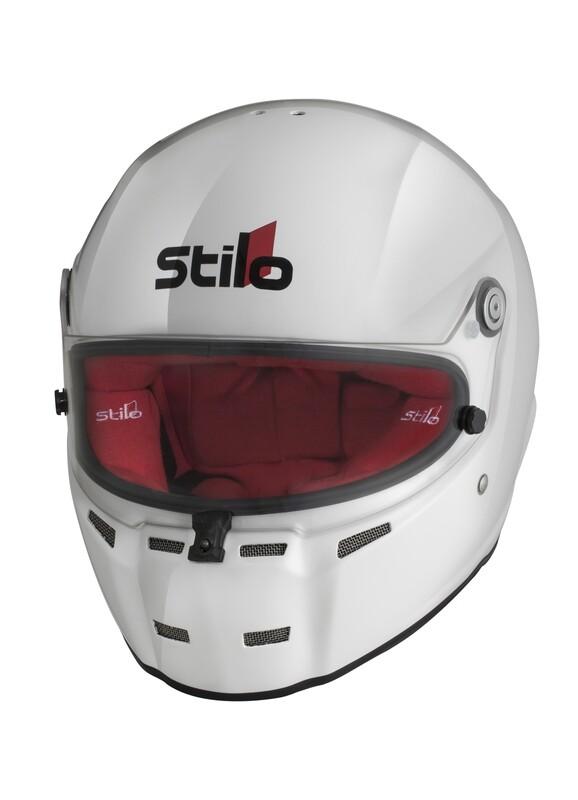 Stilo ST5 CMR White-Red helmet