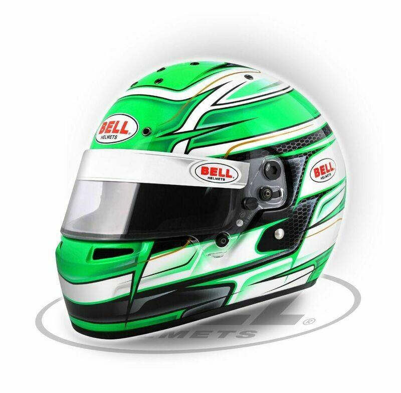Bell KC7-CMR Venom Green helmet