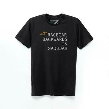 T-shirt Alpinestars Racecar backwards