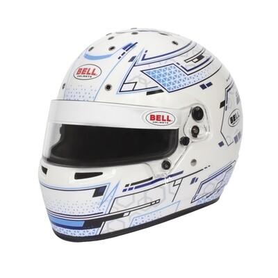 Casco Bell RS7-K Stamina Bianco/Blu