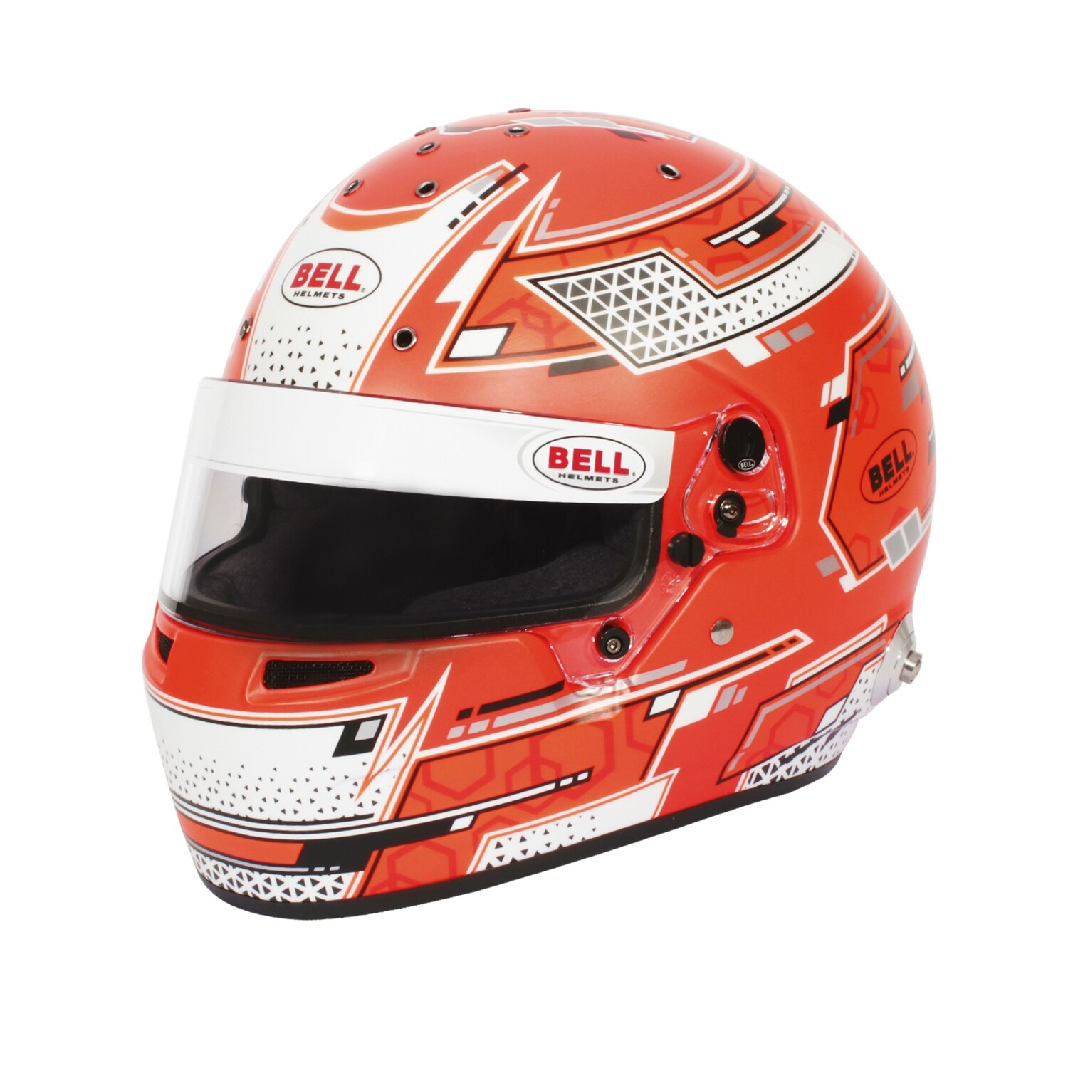 Casco Bell RS7 Pro Hans Stamina Rosso
