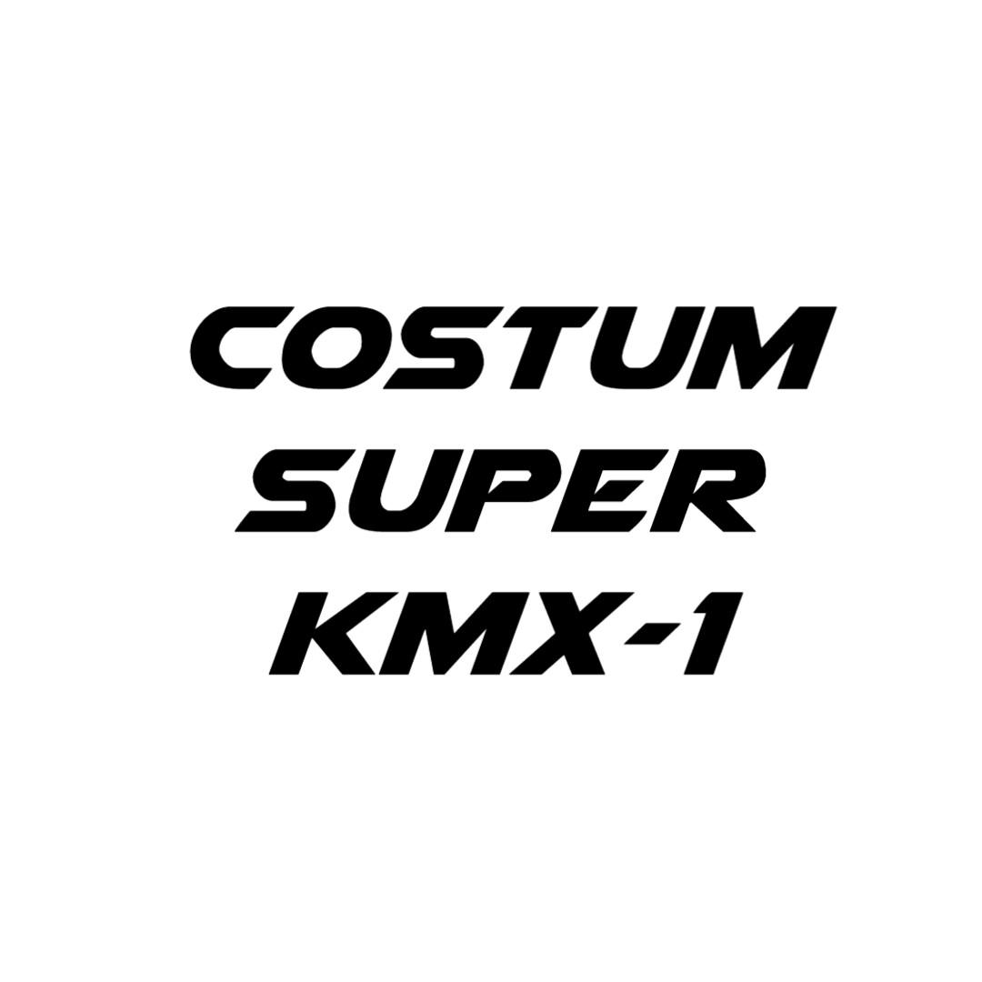 Personalizzazione Super KMX-1