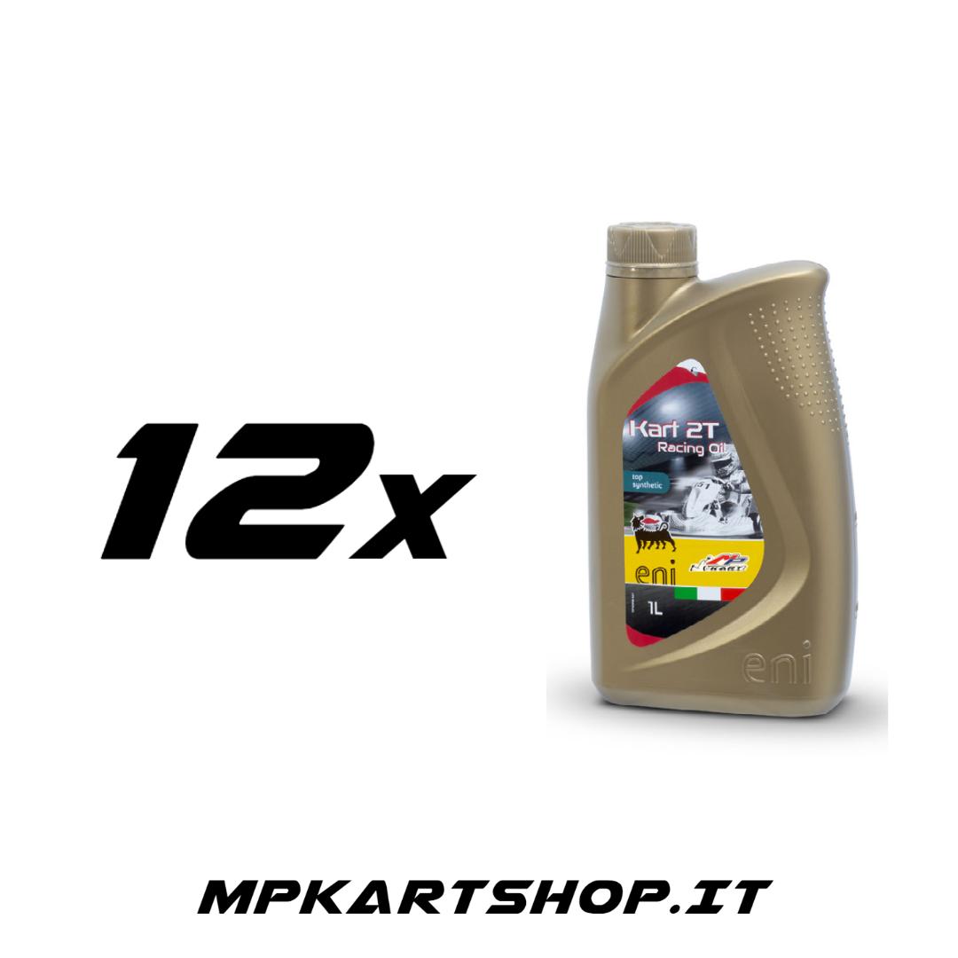 Scatola olio Eni Kart 2T (12x)