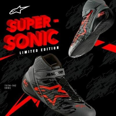 Scarpe Alpinestars Tech-1 KZ Super-Sonic