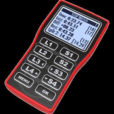 Cronometro Unistop V2 Rosso