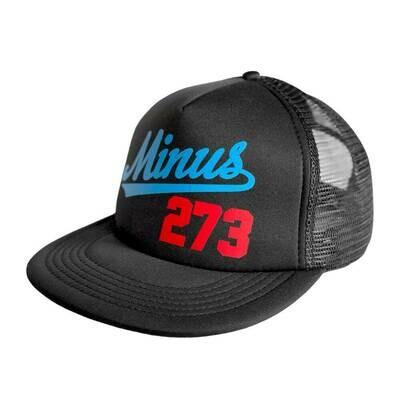 Cappellino Minus 273 LA Mesh Trucker Blu/Rosso