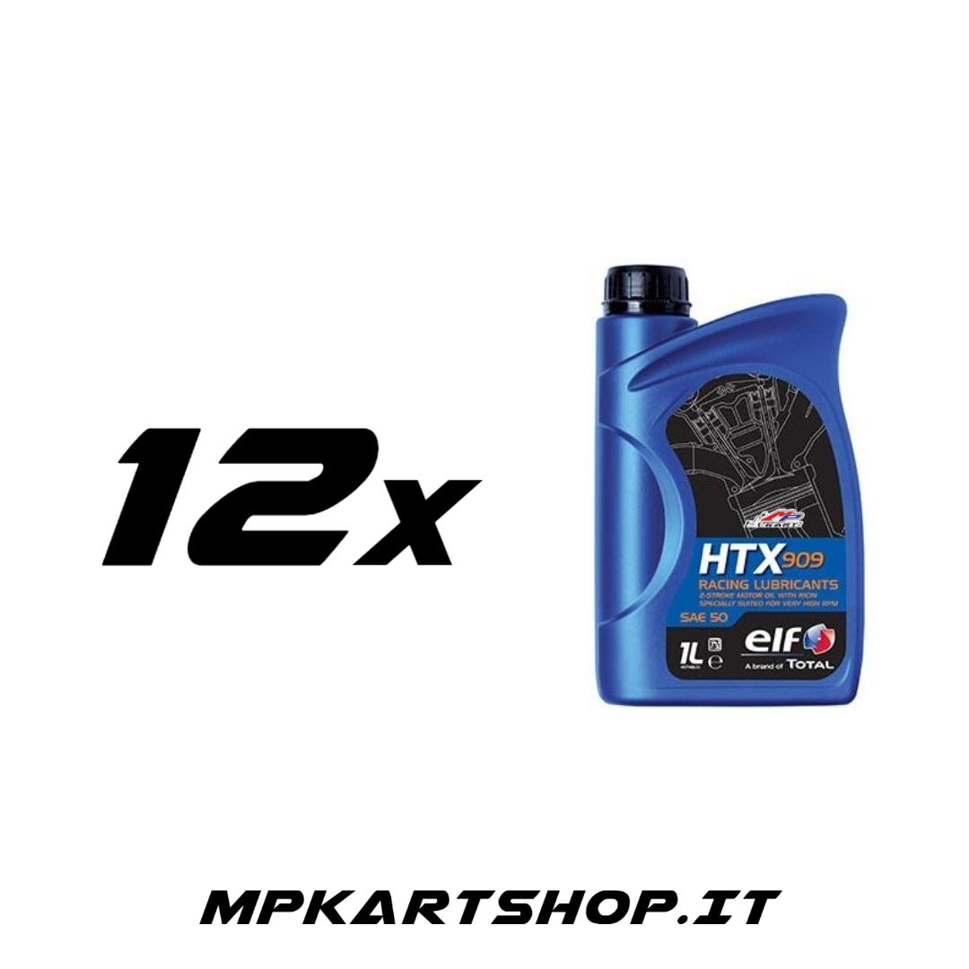 Scatola olio ELF HTX 909 (12x)