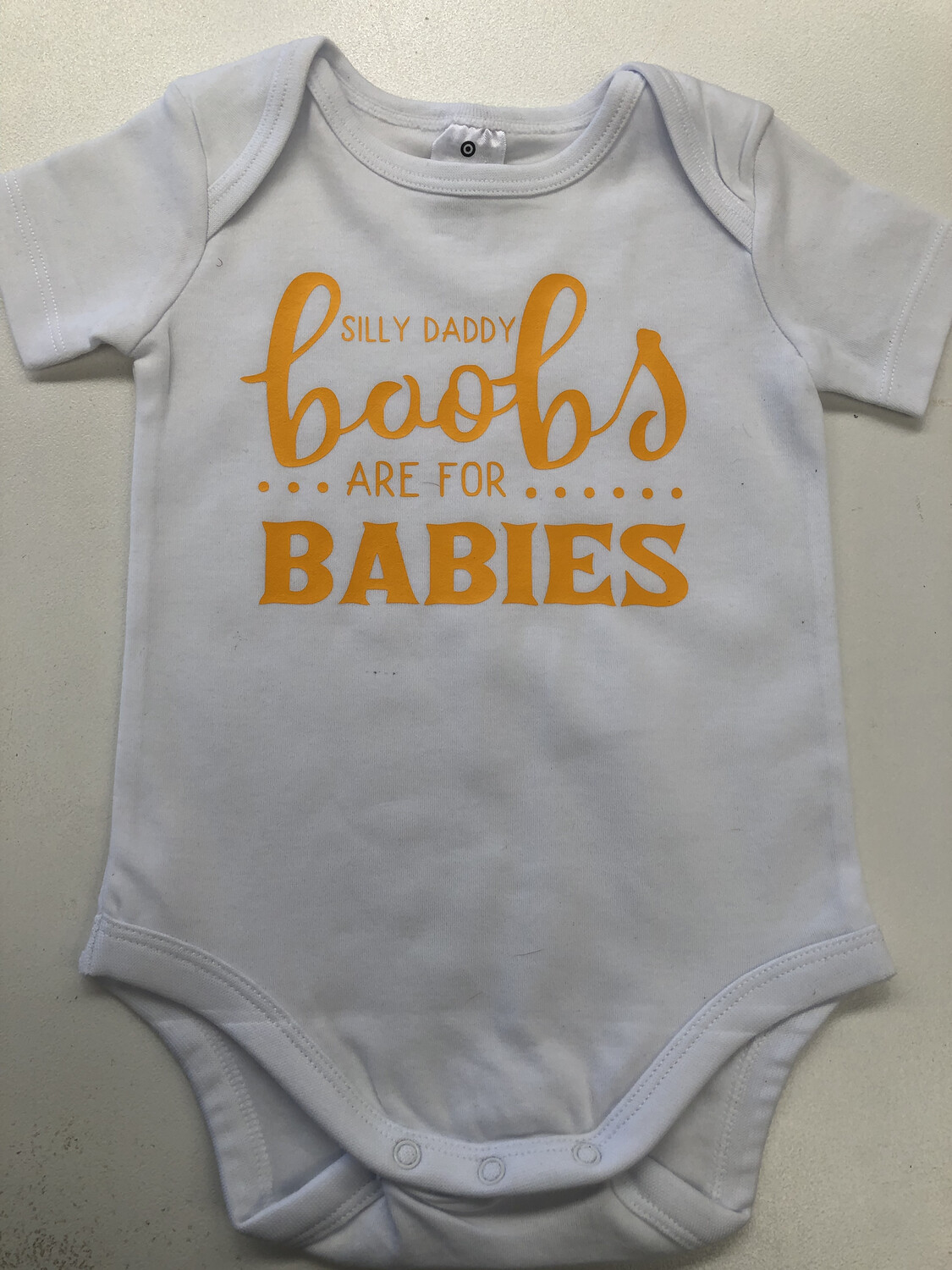 Silly Daddy Baby Romper