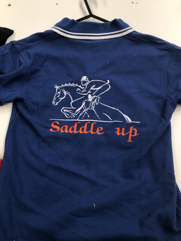 Youth Size 6 Polo Saddle Up