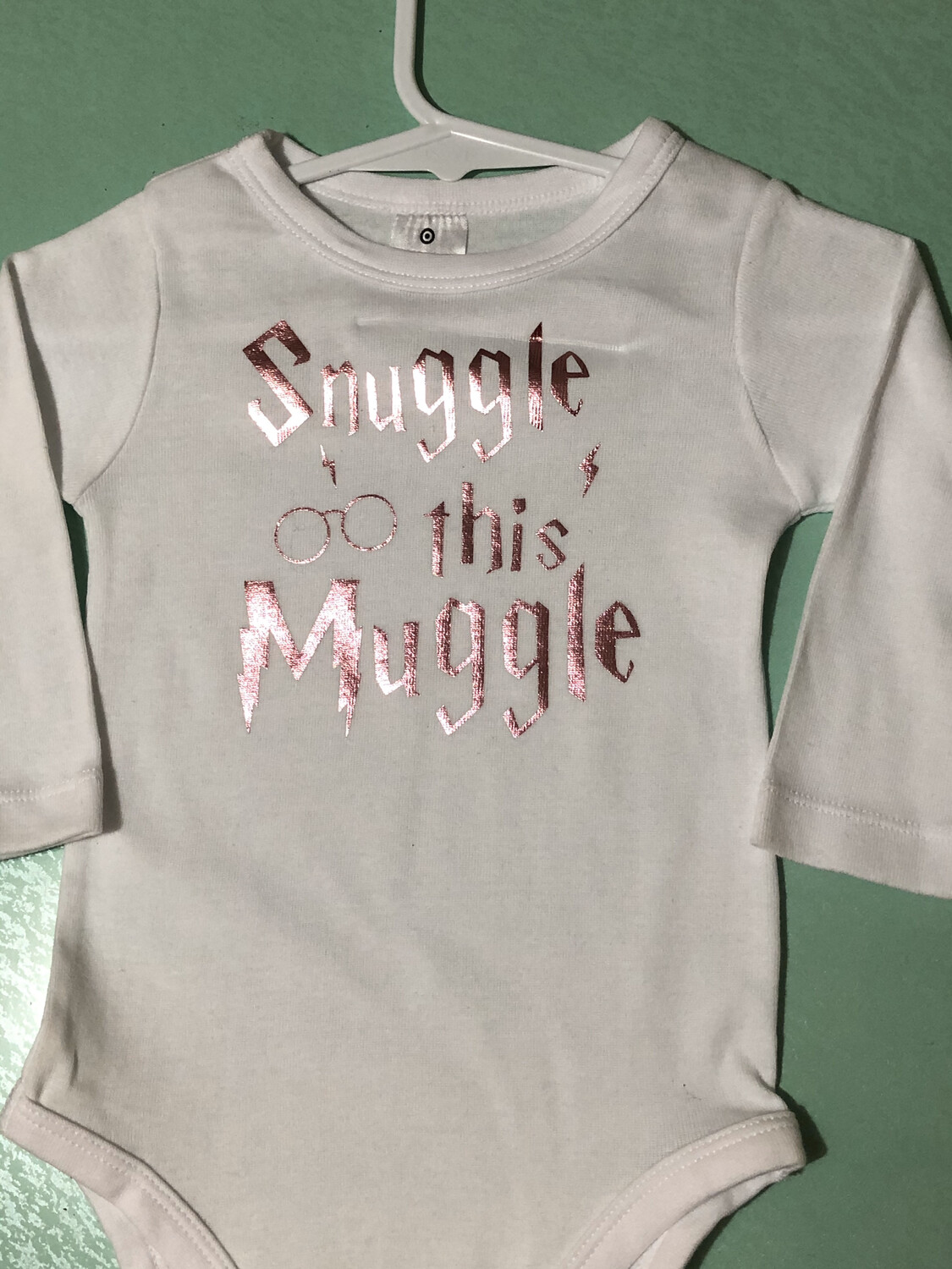 Snuggle This Muggle Baby Romper