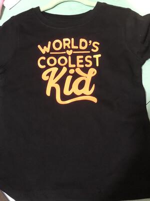 Worlds Coolest Kid t-Shirt